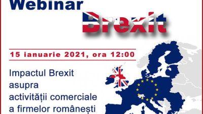 """IN ATENTIA ROMANILOR CU AFACERI IN UK – Camera de Comert si Industrie a Romaniei a facut anuntul: Ambasada Romaniei in Marea Britanie, cu sprijinul Biroului de Promovare Economica si Comerciala (BPCE) Londra, organizeaza evenimentul online """"Impactul Brexit asupra activitatii comerciale a firmelor romanesti"""", vizand activitatea de import-export dintre Romania si Regatul Unit, precum si noile cerinte impuse de la 1 ianuarie 2021 IN ATENTIA ROMANILOR CU AFACERI IN UK – Camera de Comert si Industrie a Romaniei a facut anuntul: Ambasada Romaniei in Marea Britanie, cu sprijinul Biroului de Promovare Economica si Comerciala (BPCE) Londra, organizeaza evenimentul online """"Impactul Brexi"""
