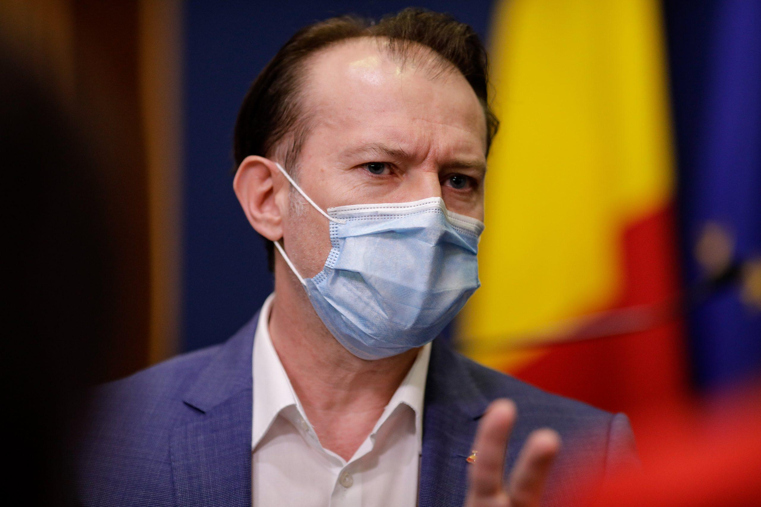 """Investigație la Ministerul Sănătății, după demiterea lui Voiculescu. Ce a descoperit Florin Cîțu: """"Arată ca un fals în acte"""""""