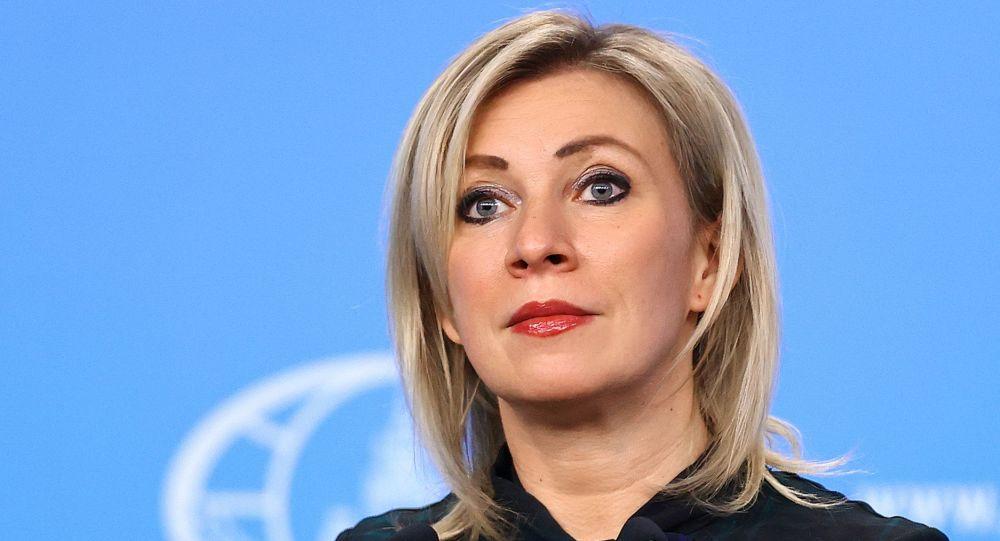 Zaharova prezintă o dovadă revoltătoare a ipocriziei Occidentului
